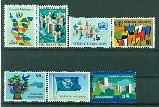 Nations Unies Vienne 1979/80 - Michel n. 1/6 + 8 -  Timbres poste ordinaire