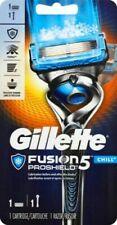 Gillette Fusion 5 Proshield Chill Mens 1 Razor Blade 1 Cartridge Flexball Handle