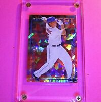 2014 Finest Red Cracked ICE REFRACTOR SSP Travis d'Arnaud RC #d 5/5 ROOKIE MINT