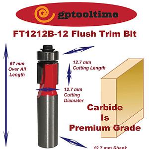 Router Bit  Flush Trim Bit RB-FT1212B-12