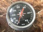 Vintage 45 Mph Speedometer Airguide Sea Speed 4 Inch Original Condition