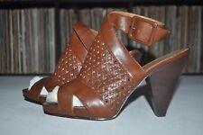 Franco Sarto Women's Slingback Sandal Heel 9 M Brown