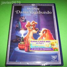LA DAMA Y EL VAGABUNDO CLASICO DISNEY NUMERO 15 - DVD NUEVO Y PRECINTADO