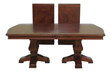 L47073EC: ETHAN ALLEN Tuscany Collection Walnut Finish Dining Table