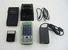 LEICA ZENO 5 GPS HANDHELD FOR SURVEING TOTAL STATION W/FULL PHONE FUNCTIONALITY
