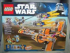 STAR WARS LEGO 2011 ANAKIN & SEBULBA'S PODRACERS SET #7962