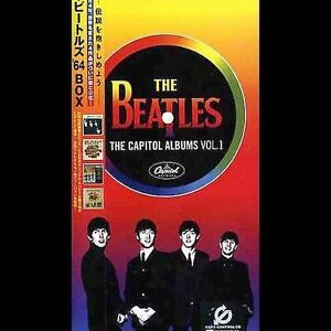 THE BEATLES The Capitol Albums, Vol.1 (4 CD, 2004, Toshiba EMI Japan) NEW SEALED