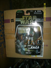 STAR WARS THE SAGA COLLECTION ULTIMATE GALACTIC HUNT BOBA FETT FIGURE # 006