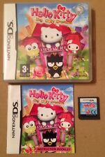 Hello Kitty Big City Dreams Ds Game 100% Tested. Complete & MINT Condition.