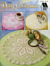 New listing Doily Collection, Doily Centerpieces Toppers, Annie's crochet pattern book New