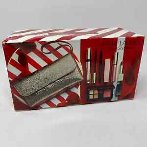 Estee Lauder Gift Set Party Shimmer 7 Pc With Gift Bag