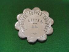 Maryland Coal Scrip 25¢ Aberdeen Supply Company-Steyer-MD-Garrett County