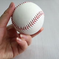 "9"" Soft Leather Sport Practice & Trainning Base Ball BaseBall Softball ATAU"