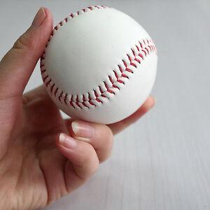 "9"" Soft Leather Sport Practice & Trainning Base Ball BaseBall Softball ZY"
