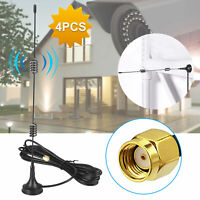 1/4pcs Dual Band 2.4/5.8GHz 12dBi/10dBi WiFi Wireless Antenna Extension Cable