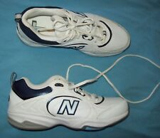 NEW BALANCE TRAINING shoe White Sneakers fits 8.5 to 9 label size is 10 WX623WB