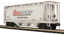 20-97684 MTH Coors Light 3-Bay Cylindrical Hopper (200935)