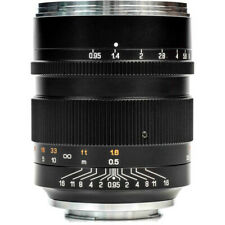 Mitakon Zhongyi Speedmaster 50mm f/0.95 III Lens for Canon RF (Black)