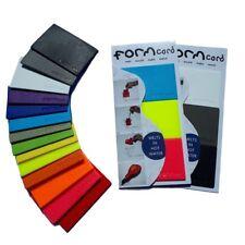 FORMcard™ | Handy, Strong Mouldable Bio-Plastic - melt • mould • mend • make