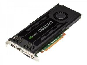 PNY NVIDIA Quadro K4000 3Go GDDR5 Carte Graphique (VCQK4000-PB)