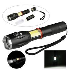 XML T6 COB LED foco linterna eléctrica Luz Antorcha Lámpara flashlight Zoom Nue