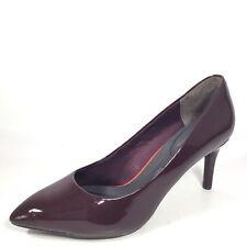 Rockport TM75MMPTH Womens Size 8.5 W Dark Vino Pump Heel Dress Shoes
