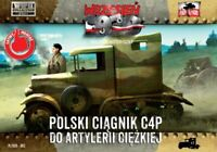 C4P HEAVY ARTILLERY TRACTOR (POLISH ARMY MKGS - 1939)#62 1/72 FIRST TO FIGHT