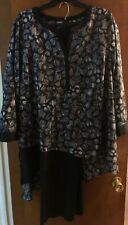 CATHERINE Proffesional/Work/Office Hi-Low Gently Used Blouse SAVE $ Size 2X