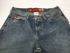 """Guess Jeans USA Size 27 Vintage Distressed 31"""" Inseam Red Tags"""