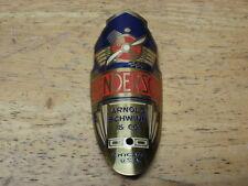RARE! Vintage Prewar & Postwar NOS Schwinn Henderson Brass Bicycle Badge