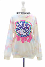 T-512 gelb Lolita Pullover Sweatshirt Unicorn Einhorn Pony Harajuku Japan Juicy