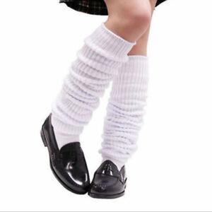 Lady Lolita Slouch Long Socks Bubble Loose Legs Warmer Japanese School Cute Sock