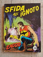ZAGOR n.63  - Sfida all'ignoto