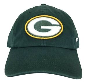 Green Bay Packers Classic Green Adjustable Hat 3D Stitched Logo NFL Licensed NWT