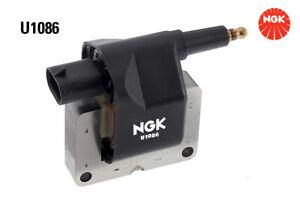 NGK Ignition Coil U1086 fits Jeep Wrangler 4.0 (TJ), 4.0 Rubicon (TJ)