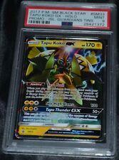 Holo Foil Tapu Koko GX # SM33 SM Black Star Promo Set Pokemon Cards PSA 9 MINT