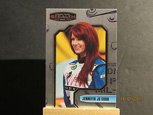 2011 Press Pass Stealth #63 Jennifer Jo Cobb NNS RC