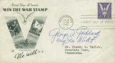 GEORGE W. GODDARD - FIRST DAY COVER SIGNED