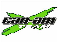 "CAN-AM Team 3DX Logo / GREEN / 26"" Vinyl Vehicle ATV Utility Graphic Decal"