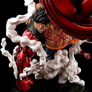 Collection Anime ONE PIECE Monkey D.Luffy Fishing Lufy Gear 4 PVC action figure