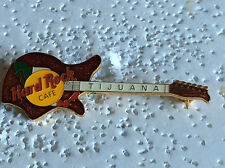 HARD ROCK CAFE PIN TIJUANA RED EKO 700 WITH MEXICAN FLAGG ENAMEL GUITAR