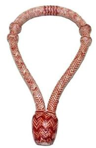 D.A. Brand Chestnut and Natural Braided Genuine Rawhide Bosal Horse Tack Equine