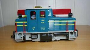 LGB Diesellok 20605 OVP analog Vitrinenmodell