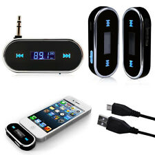 Wireless Bluetooth FM Transmitter mp3 AUX 3.5mm Handsfree Car Kit Headphones