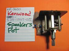 Kenwood S29-1067-05 Speakers Pot Kr-3400 Stereo Receiver