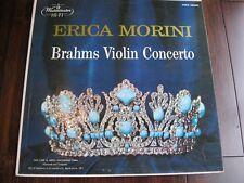 ERICA MORINI BRAHMS VIOLIN CONCERTO WESTMINSTER XWN 18600