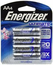 Energizer AA Ultimate Lithium Batteries EN-L91 EXP 2033 (Pack of 4)