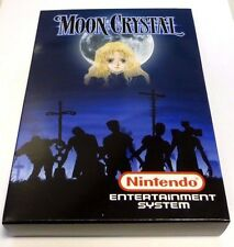 Moon Crystal - Nintendo NES Game With Custom Box - Great gamer gift!