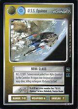 STAR TREK CCG VOYAGER RARE CARD U.S.S. EQUINOX (non aligned)