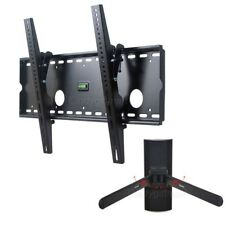 "Tilt TV Wall Mount LED LCD Plasma 37~70""+Adjustable DVD Bracket Shelf Holder wad"